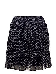 Bert Printed Skirt - DARK NAVY