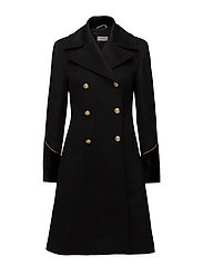 Burton Overcoat - BLACK