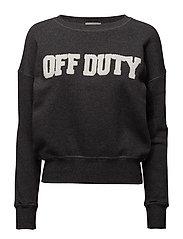 Off Duty Muse Fleece - DARK GREY MELANGE