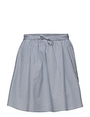 Mason Skirt - BLUE STRIPE