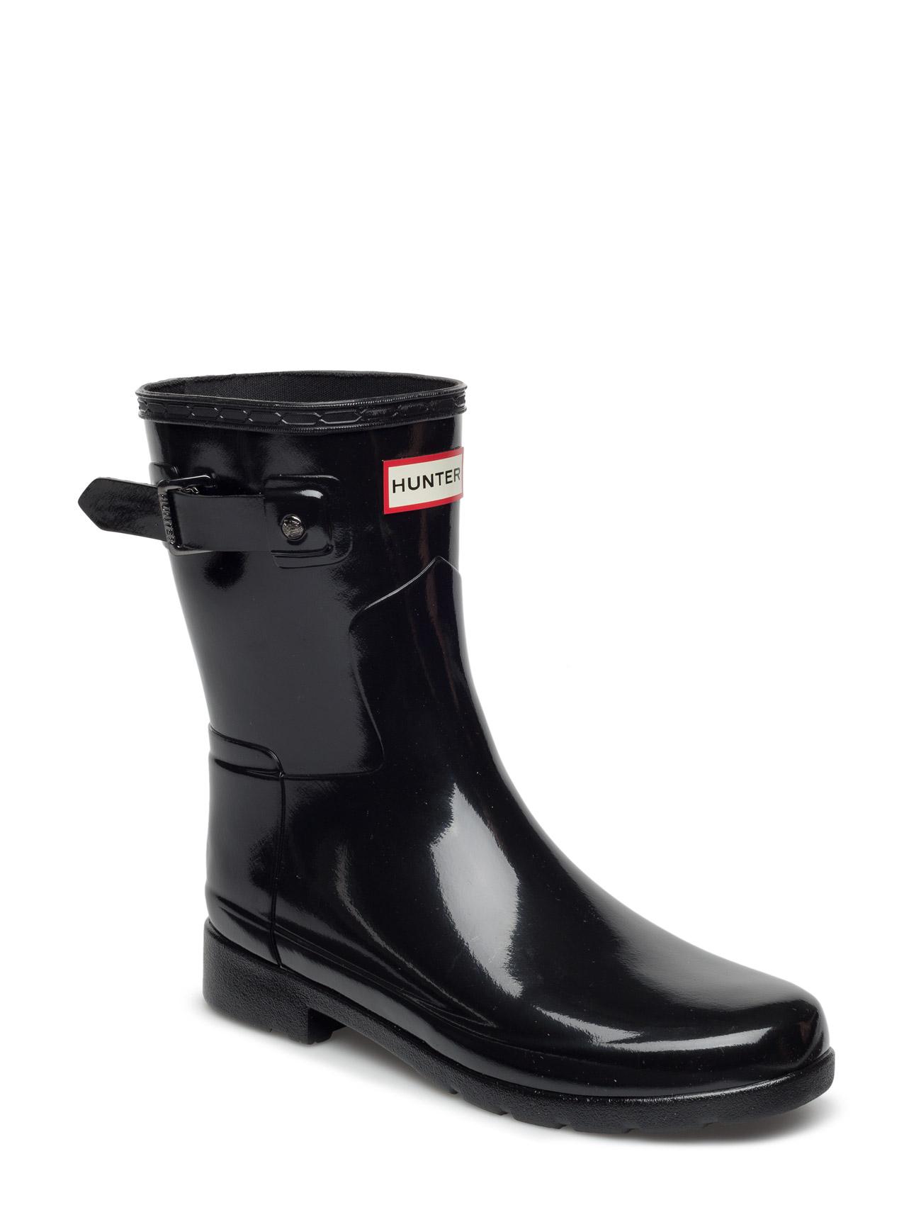 eef497a5 Hunt Orig Refined Short Gloss Hunter Støvler til Kvinder i