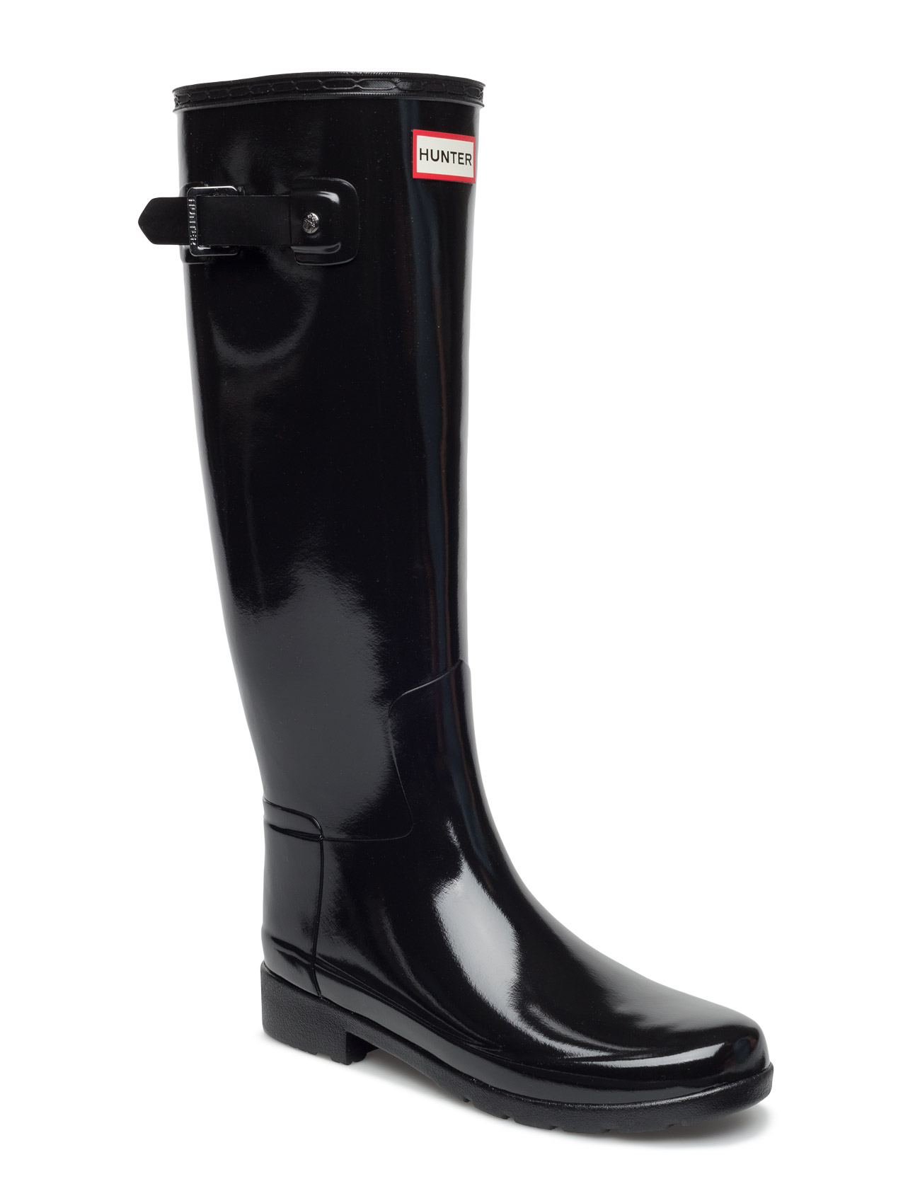Hunter Original Refined Gloss Hunter Støvler til Damer i Sort