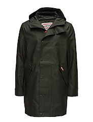 Hunter MenOrig RRub HuntCoat - DARK OLIVE