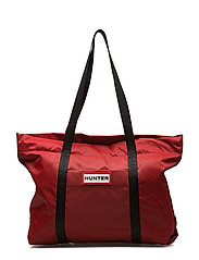 Hunter Original Nylon Tote - MILITARY RED