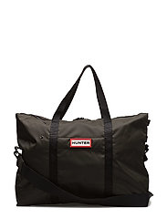 Hunter Orginal Nylon Weekender - DARK OLIVE