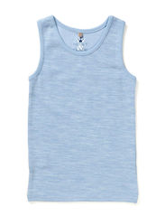 Undershirt Oekotex - Blue dawn melange