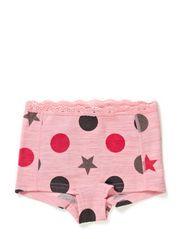 Panties Oekotex - Fresa pink melange