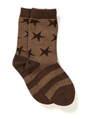 Wool Socks Oekotex - Cub brown
