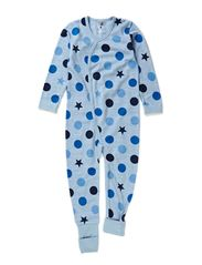 Jumpsuit Oekotex - Blue dawn melange
