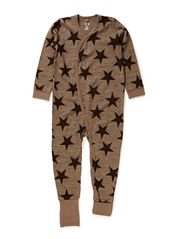 Jump suit  Oekotex - Cub brown