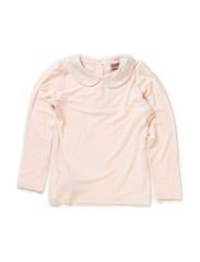 T-shirt Long sleeve - Peach puff