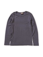T-shirt Long sleeve - Dark grey