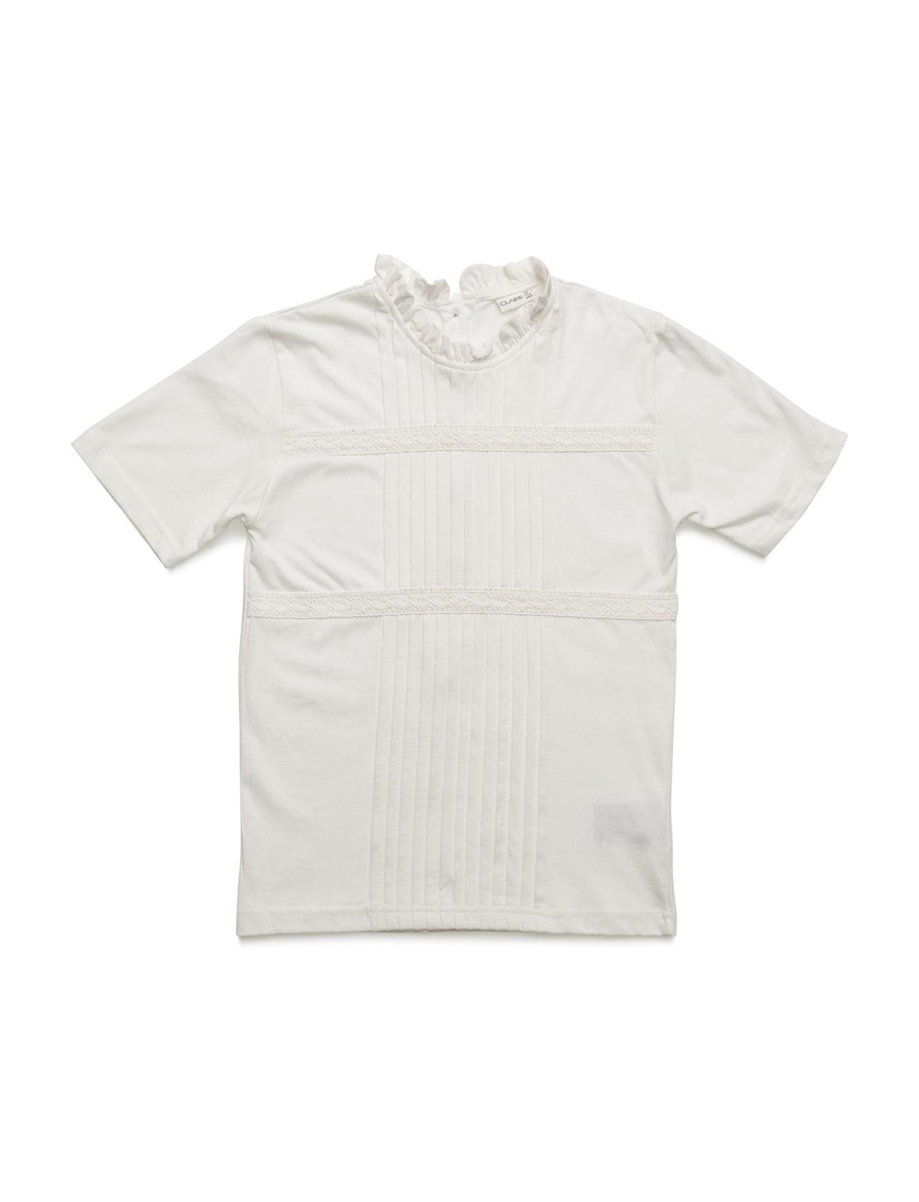 T-Shirt Hust & Claire Kortærmede t-shirts til Børn i Sne hvid