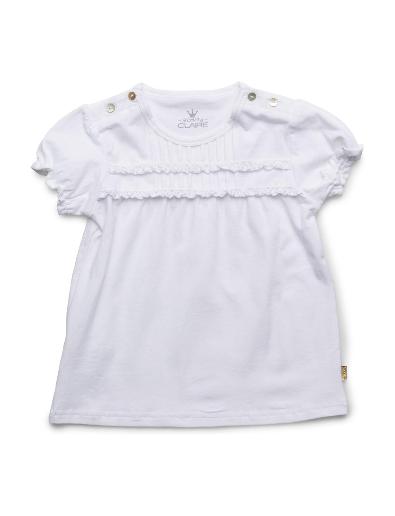 T-Shirt Hust & Claire T-shirts til Piger i hvid