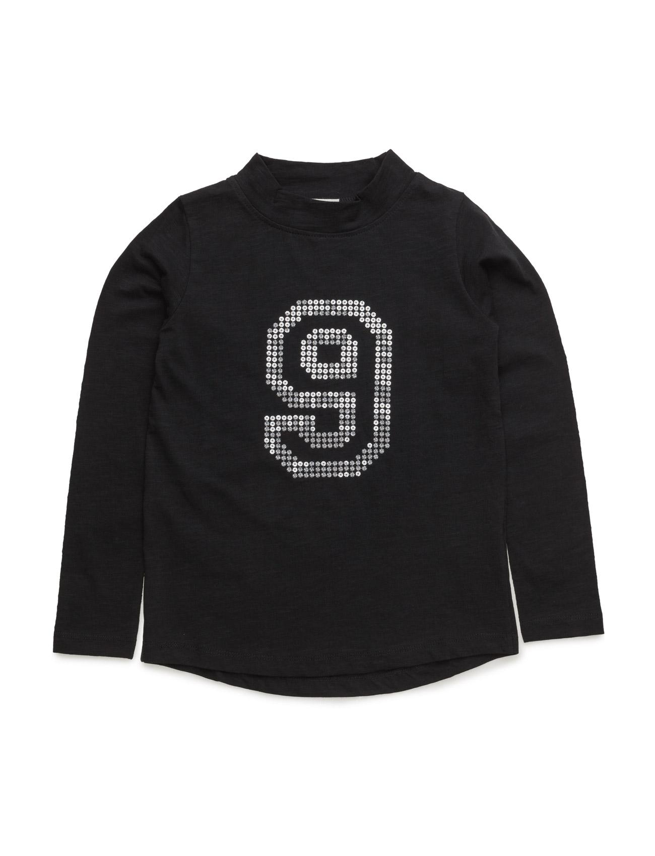 T-Shirt L/S Hust & Claire Langærmede t-shirts til Børn i Sort