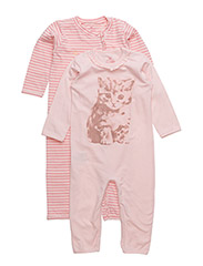 Nightsuit 2-pack - ROSE TAN