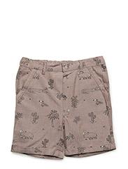 Shorts - ALMOND