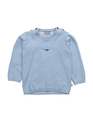 Pullover - LIGHT BLUE MELANGE