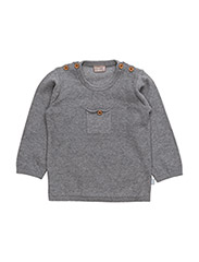 Pullover - LIGHT GREY MELANGE