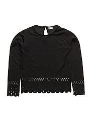 T-shirt L/S - BLACK