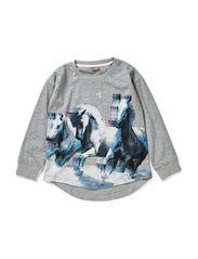 T-shirt Long sleeve - Grey