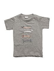 T-shirt - ASH MELANGE