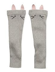 Leg warmer - LIGHT GREY MELANGE