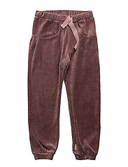 Jogging trousers - PLUM