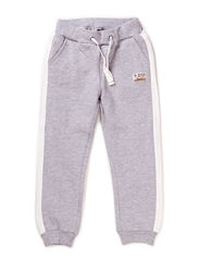 Jogging trousers - Pearl grey melange