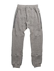 Jogging trousers - LIGHT GREY MELANGE