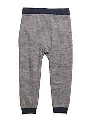 Trousers - LIGHT GREY MELANGE