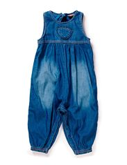 Jumpsuit - Washed denim