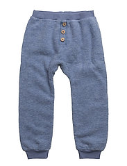 Trousers - BLUE FOG MELANGE