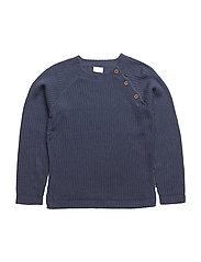 Pullover - BLUE FOG MELANGE