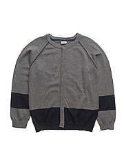 Cardigan - WOOL GREY