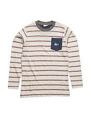T-shirt L/S - CREAM