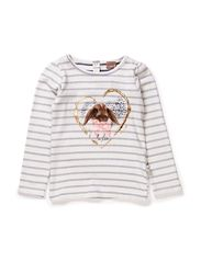 T-shirt L/S - Ivory