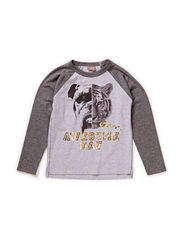 T-shirt L/S - Wool grey