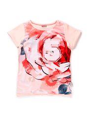 T-shirt - Peach puff