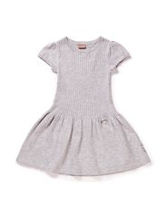 Dress - Pearl grey melange