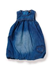 Dress - Washed denim