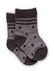 Wool socks - Wool grey