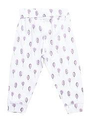 Jogging trousers - PURPLE FOG