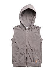 Sweatshirt vest - SHADOW