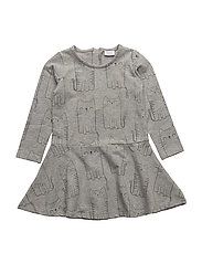 Dress - LIGHT GREY MELANGE