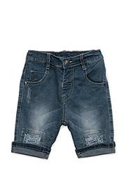 Jeans 3/4 - WASHED DENIM