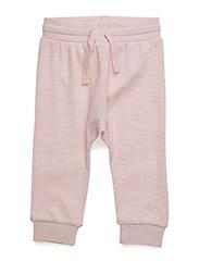 Jogging trousers - ROSE MELANGE