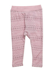 Jogging trousers - ROSE CLOUD MELANGE
