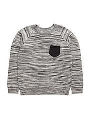 Pullover - TILE GREY MELANGE