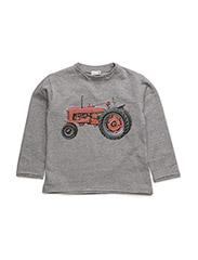 T-shirt L/S - TILE GREY MELANGE